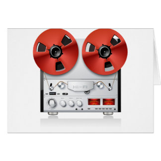 Tape Reels Note Cards