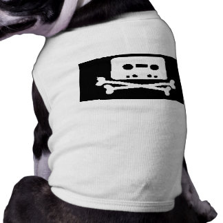 tape skull dog clothes