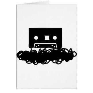 tape spaghetti icon card