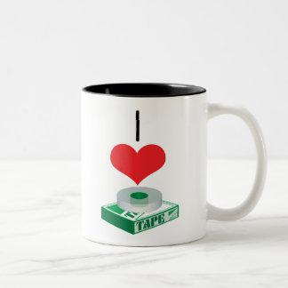 tape Two-Tone coffee mug