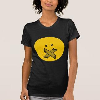Taped Mouth Emoji T Shirt