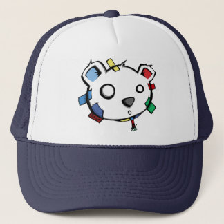 TapedOnBalloonHat - Disco Trucker Hat