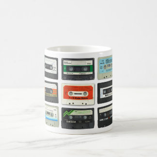 Tapes Classic White Coffee Mug