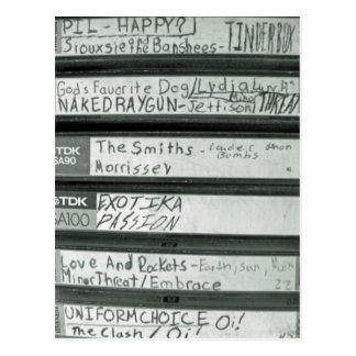 Tapes Postcard