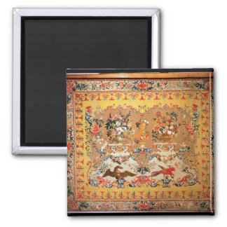 Tapestry, 1720s (textile) 2 inch square magnet