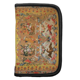 Tapestry 1720s textile folio planner