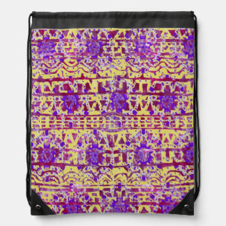 Tapestry Boho Pattern Backpack by KCS