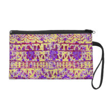 Tapestry Boho Pattern Clutch by KCS