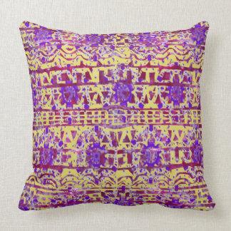 Tapestry Boho Pattern Pillow by KCS