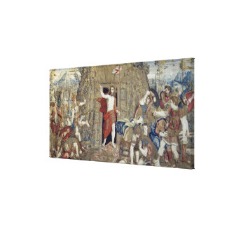Tapestry depicting the Resurrection of Christ in Canvas Print