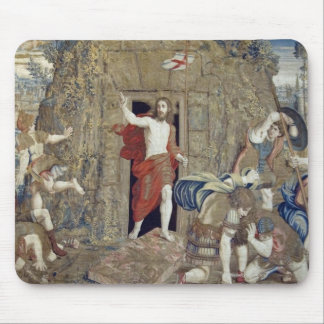 Tapestry depicting the Resurrection of Christ in Mouse Pad