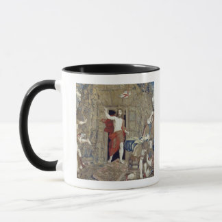 Tapestry depicting the Resurrection of Christ in Mug
