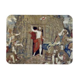 Tapestry depicting the Resurrection of Christ in Vinyl Magnet