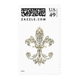 Tapestry Fleur de lis 3 Stamp