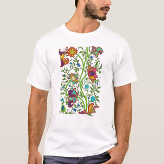 Tapestry Flowers and Vines Shirt