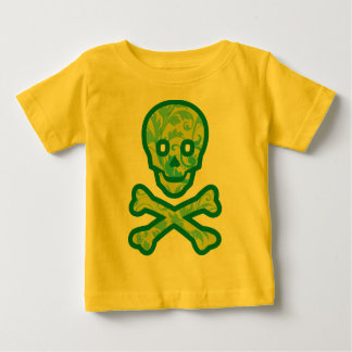 Tapestry Head Green Baby T-Shirt