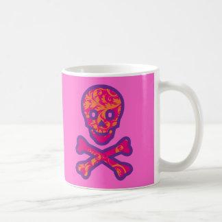 Tapestry Head Purple Coffee Mug
