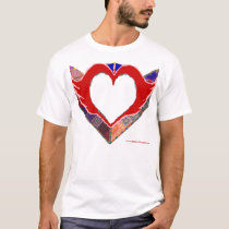 Tapestry Heart T-Shirt