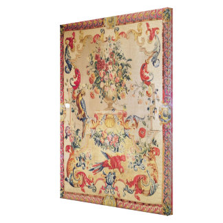 Tapestry in early Rococo style with strapwork and Canvas Prints