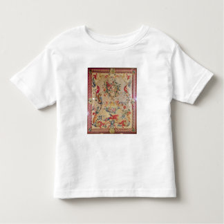 Tapestry in early Rococo style with strapwork and Toddler T-shirt
