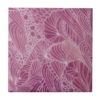 Tapestry in Pinks Ceramic Tiles