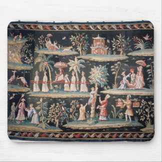 Tapestry in the Chinoiserie style of John van Mouse Pad