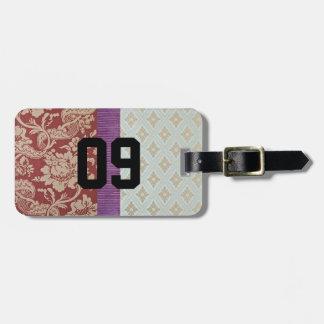 tapestry J2M Bag Tag