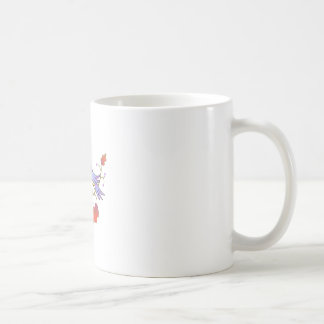 TAPESTRY LEAVES AND BIRDS COFFEE MUG
