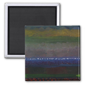 Tapestry 2 Inch Square Magnet
