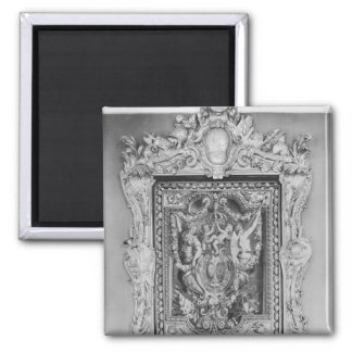 Tapestry of coat of arms of French Royal Family Magnet