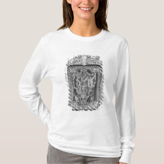Tapestry of coat of arms of French Royal Family T-Shirt