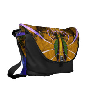 Tapestry of Lace Messenger Bag