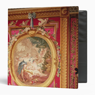 Tapestry panel depicting Cupid and Psyche 3 Ring Binder