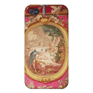 Tapestry panel depicting Cupid and Psyche Cover For iPhone 4