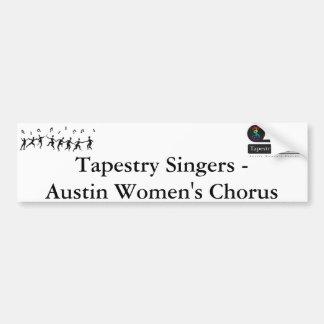 Tapestry Singers Bumper Sticker