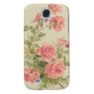 Tapestry Style Pink Roses Samsung S4 Case