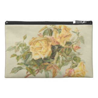 Tapestry Style Yellow Roses Travel Accessory Bag