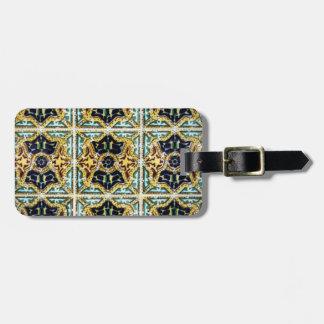 Tapestry Tiles Bag Tag