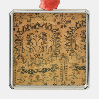 Tapestry, Western Asian,  7th-8th century Metal Ornament