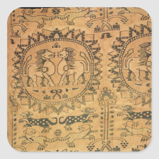 Tapestry, Western Asian,  7th-8th century Square Sticker