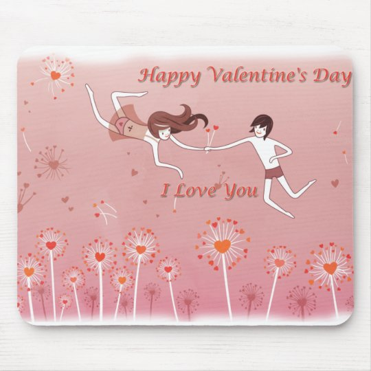 Tapete para rato Happy Valentine's Day Mouse Pad