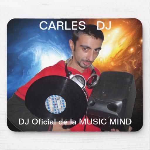 Tapete para ratón CARLES DJ Mouse Pads