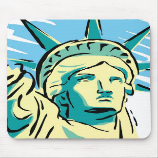 Tapete para ratón - Estatua de la Libertad - M1 Mousepad