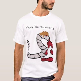 Tapey The Tapeworm T-Shirt