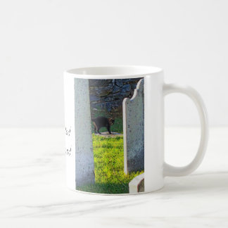 Taphophile - Black Cat Coffee Mug