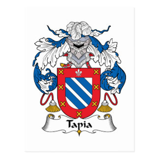 Tapia Family Crest Postcards