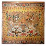 Tapicería, 1720s (materia textil) azulejo cuadrado grande