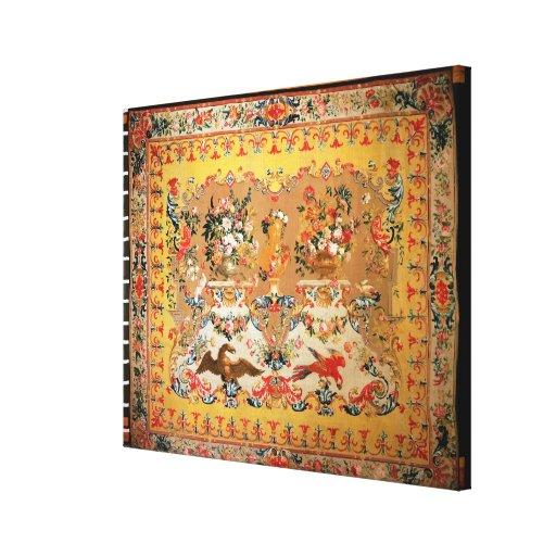 Tapicería, 1720s (materia textil) impresión en lienzo