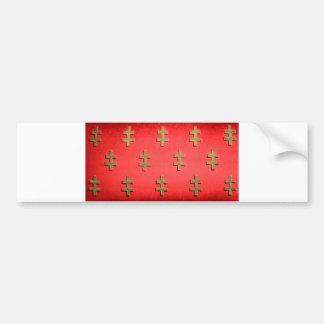 tapicería de la textura de la materia textil del pegatina para auto
