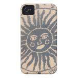 Tapicería de Sun iPhone 4 Case-Mate Cárcasa
